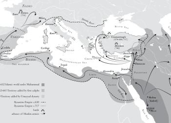 Byzantine Empire map