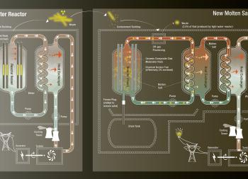 Molten Salt Reactor Diagram